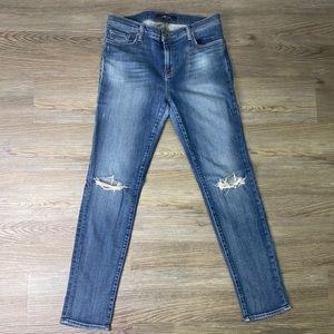 J Brand Fray Skinny Leg Jeans Size 31